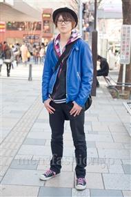 ファッションコーディネート原宿・表参道 2011年3月 吉川 海さん