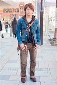 ファッションコーディネート原宿・表参道 2011年3月 岡 寛紀さん