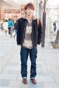 ファッションコーディネート原宿・表参道 2011年3月 永井雄也さん