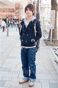 ファッションコーディネート原宿・表参道 2011年3月 タベイヒロキさん