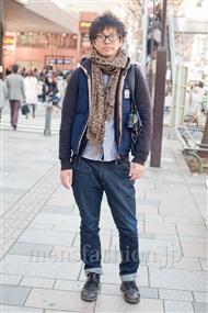ファッションコーディネート原宿・表参道 2011年3月 stojkovicさん