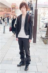 ファッションコーディネート原宿・表参道 2011年3月 安田博紀さん