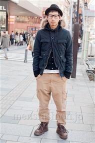 ファッションコーディネート原宿・表参道 2011年3月 小野真悟さん