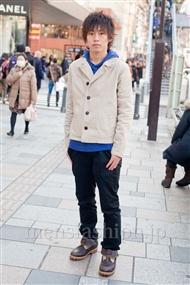 ファッションコーディネート原宿・表参道 2011年3月 中村壮平さん
