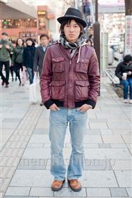 ファッションコーディネート原宿・表参道 2011年3月 ニシカズさん