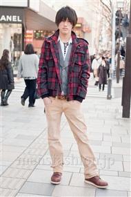 ファッションコーディネート原宿・表参道 2011年3月 南井雄斗さん