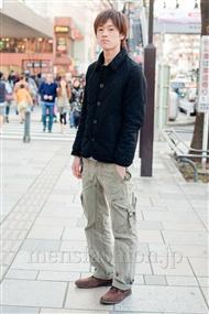 ファッションコーディネート原宿・表参道 2011年3月 ヒロトさん