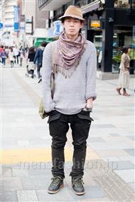 ファッションコーディネート原宿・表参道 2011年4月 こしおさん