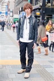 ファッションコーディネート原宿・表参道 2011年4月 わださん