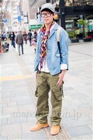 ファッションコーディネート原宿・表参道 2011年4月 岡 大貴さん