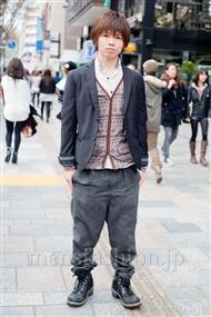 ファッションコーディネート原宿・表参道 2011年4月 しょうさん