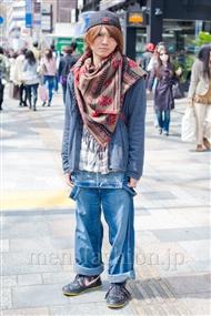 ファッションコーディネート原宿・表参道 2011年4月 塚越雄喜さん