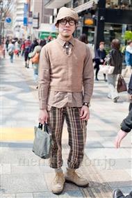 ファッションコーディネート原宿・表参道 2011年4月 ぢんたろうさん