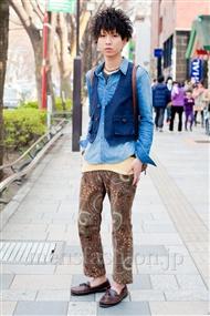 ファッションコーディネート原宿・表参道 2011年4月 giwaさん