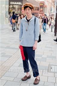 ファッションコーディネート原宿・表参道 2011年4月 安田博紀さん