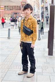 ファッションコーディネート原宿・表参道 2011年4月 雨宮雄三さん