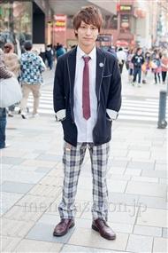 ファッションコーディネート原宿・表参道 2011年4月 坂木亮太さん