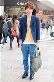 ファッションコーディネート原宿・表参道 2011年4月 高橋優将さん