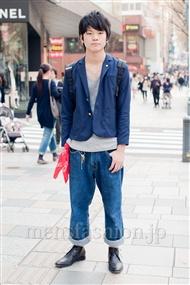 ファッションコーディネート原宿・表参道 2011年4月 星野航希さん