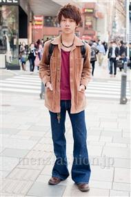 ファッションコーディネート原宿・表参道 2011年4月 渡邊佑さん