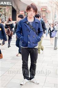 ファッションコーディネート原宿・表参道 2011年4月 宮本啓佑さん