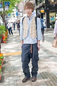 ファッションコーディネート原宿・表参道 2011年5月 上久保 翔太さん