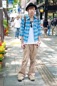 ファッションコーディネート原宿・表参道 2011年5月 小沼 克年さん