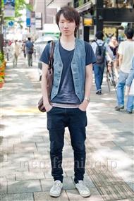 ファッションコーディネート原宿・表参道 2011年5月 大野 真大さん