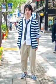 ファッションコーディネート原宿・表参道 2011年5月 津田 夏実さん