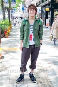 ファッションコーディネート原宿・表参道 2011年5月 スギウラさん
