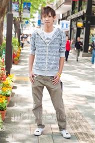 ファッションコーディネート原宿・表参道 2011年5月 定者 空さん