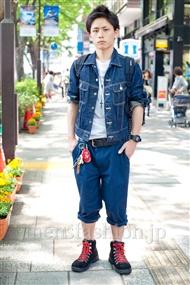 ファッションコーディネート原宿・表参道 2011年5月 斉藤 夢楽さん