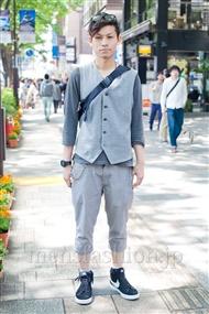 ファッションコーディネート原宿・表参道 2011年5月 村田 一樹さん