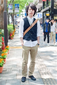 ファッションコーディネート原宿・表参道 2011年5月 平野 翔太さん
