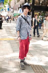 ファッションコーディネート原宿・表参道 2011年5月 住吉 翔平さん