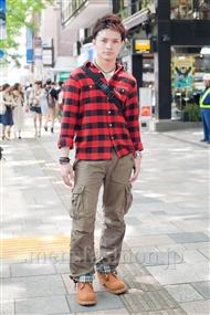 ファッションコーディネート原宿・表参道 2011年5月 Martinさん