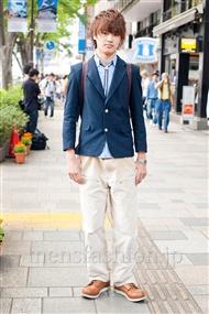 ファッションコーディネート原宿・表参道 2011年5月 上野 晃宏さん