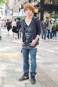 ファッションコーディネート原宿・表参道 2011年5月 塚越 雄喜さん