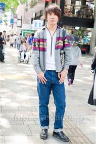 ファッションコーディネート原宿・表参道 2011年5月 よーへーさん