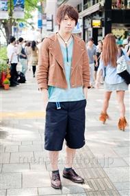 ファッションコーディネート原宿・表参道 2011年5月 内田 健一さん