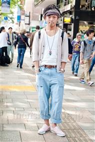 ファッションコーディネート原宿・表参道 2011年5月 伊藤 慎也さん