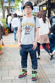 ファッションコーディネート原宿・表参道 2011年5月 草間 一成さん