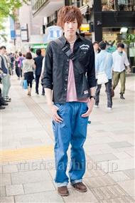 ファッションコーディネート原宿・表参道 2011年5月 稲垣 馨一朗さん
