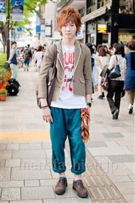 ファッションコーディネート原宿・表参道 2011年5月 三浦 将樹さん