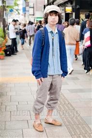 ファッションコーディネート原宿・表参道 2011年5月 清水 聡太さん
