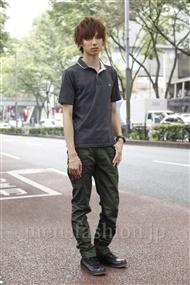 注目ファッションコーディネート 2011年6月 飯島さん