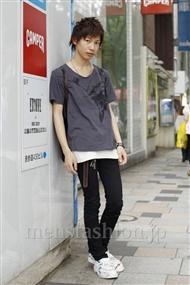 ファッションコーディネート原宿・表参道 2011年06月 新野尾 尚さん