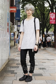 ファッションコーディネート原宿・表参道 2011年06月 北村 諒さん