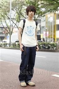 ファッションコーディネート原宿・表参道 2011年06月 伊藤航平さん
