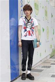 ファッションコーディネート原宿・表参道 2011年06月 小島慶大さん